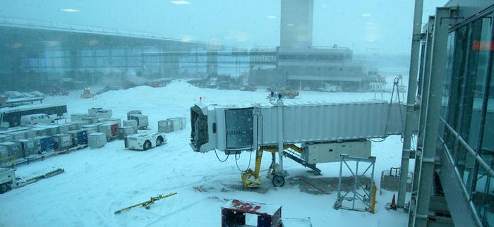 Zbožňujem to vzrúšo počas cestovania. 19.január New York - snehová kalamita a naše pochybnosti -odletíme, neodletíme?
